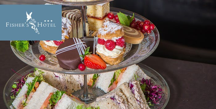 £24.95 for Afternoon Tea + Prosecco for 2