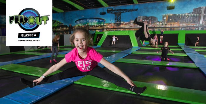 £39 for a 2 Hour Family Trampolining Session + Pizza, Fries + Drinks