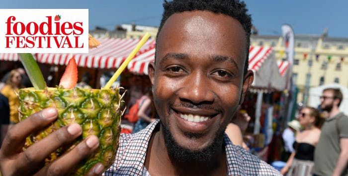 Day Tickets with Show Guide + Optional VIP Upgrade for Foodies Festival from 2nd-4th August 2019 at Inverleith Park, Edinburgh; from £11.50