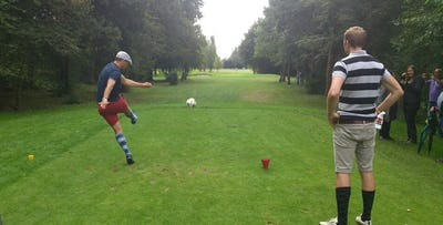 Family or Adults Footgolf; from £25