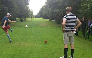 Round of Footgolf