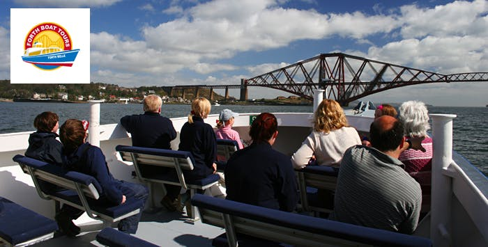 Three Bridges Cruise of Forth for 2 or 4 from South Queensferry, from £18