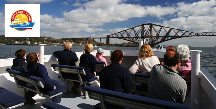 £28 for Blackness Castle and Three Bridges Boat Tour with Cream Tea for 2