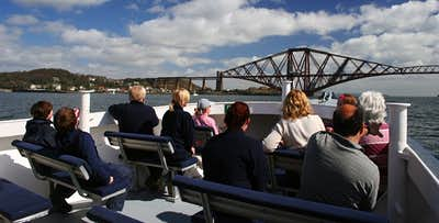 Three Bridges Cruise of Forth for 2 from South Queensferry, from £15