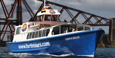 £18.50 for a Firth of Forth Boat Tour + Cream Tea for 2 from South Queensferry