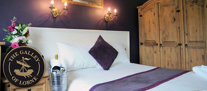 £42.50 for an Overnight B&B Stay for 2