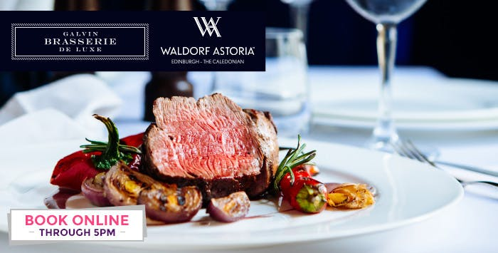 £59 for Chateaubriand Steak + Bottle of Red Wine for 2
