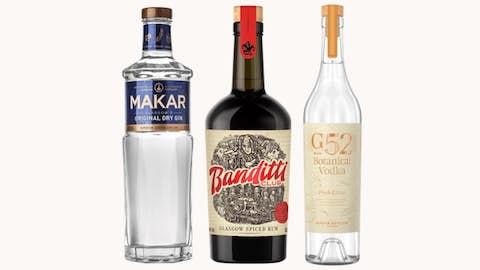 Bottle of Spirit + Mixers