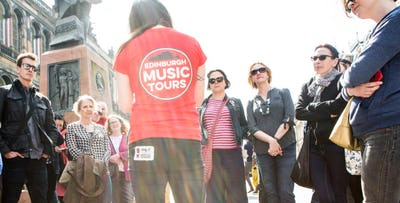 £24 for a Guided Walking Tour of Edinburgh's Music Scene for 2