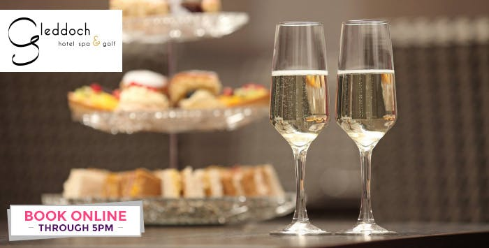 Classic Afternoon Tea with Option of Prosecco or Lithgow Afternoon Tea for 2, from £16.95