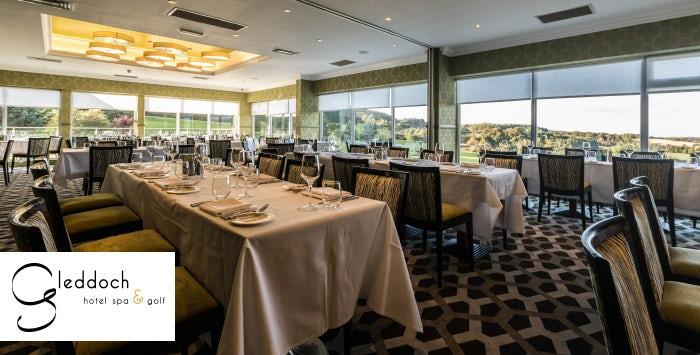 Gleddoch House Hotel Restaurant Menu