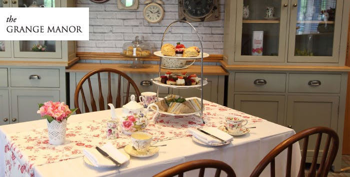 £79 for an Overnight Stay with Afternoon Tea for 2