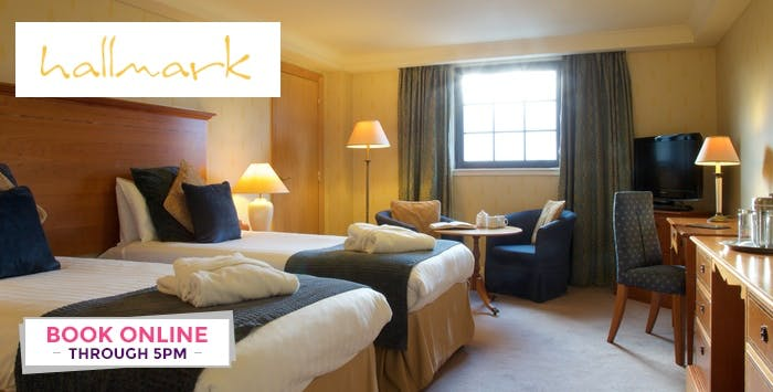 Overnight Stay with Dinner + Bottle of Wine for 2, from £95