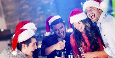 Christmas Party Event with Disco + 3 Course Meal for 1, from £21.25