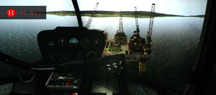 £65 for a Helicopter Flight Simulator Experience