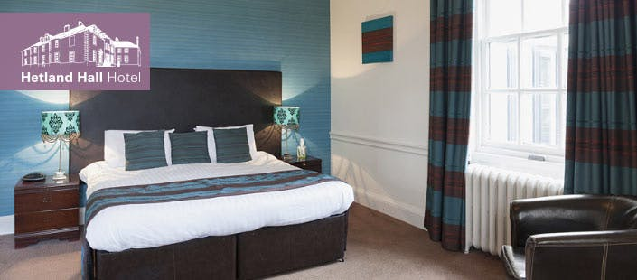 £79 for an Overnight DB&B Break for 2 at Hetland Hall Hotel