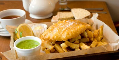£15 for Fish & Chips + Tea or Coffee for 2