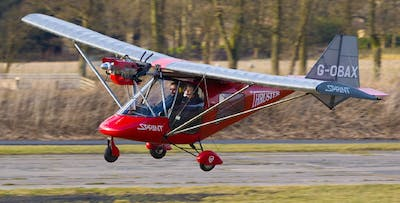 Microlight Flight at Balado Park Airfield, from £55