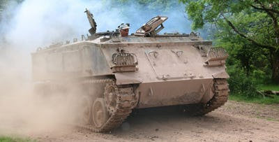 £75 for a Tank Driving Experience for 1