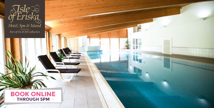 Overnight Stay in Standard or Deluxe Room + Option of Spa Treatment Each for 2, from £149
