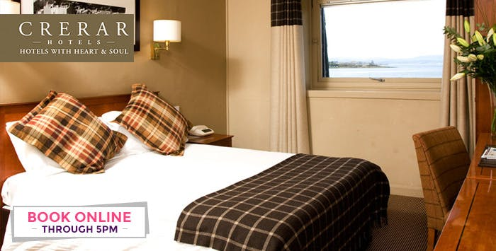 2 Night Stay in Sea View Room + Option of Dinner for 2 People, from £115