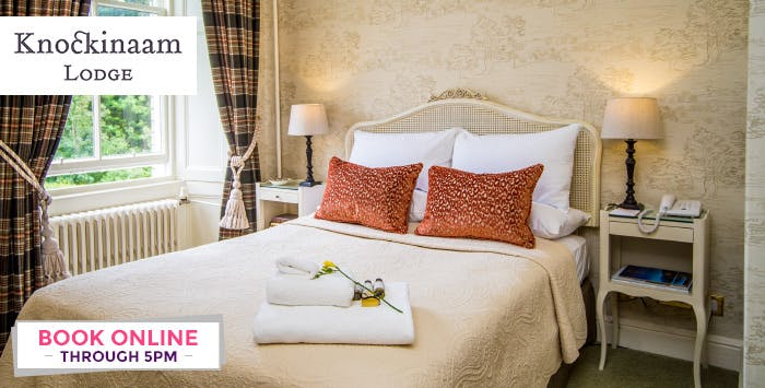 1 or 2 Night B&B Stay + Option of Dinner for 2, from £109