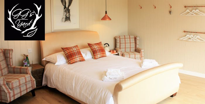1, 2 or 3 Night Stay in Sea View Snug for 2 People at GG's Yard, from £59