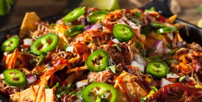 £10 for 4 Cocktails + Large Nachos to Share