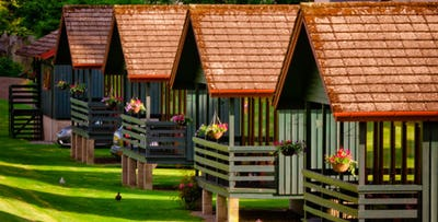 3 or 4 Night Break in a 1 or 2 Bedroom Lodge, from £199