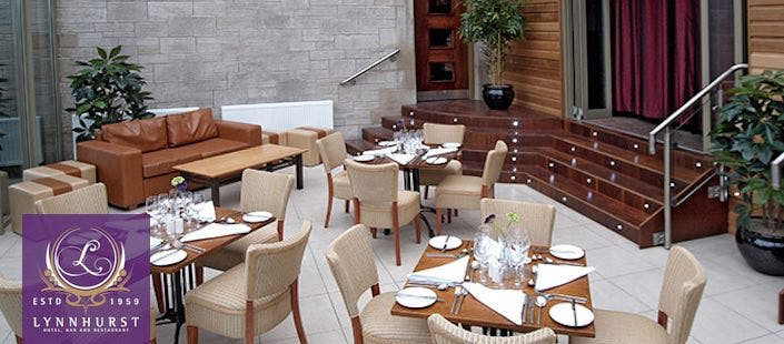 £19 for a 2 Course Meal + Wine for 2
