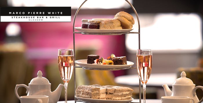 Afternoon Tea with Optional Fizz for 2, from £17.95