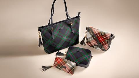 Tartan Bag or Purse