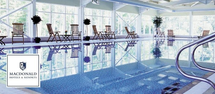 £28 for Afternoon Tea + Full Use of Leisure Facilities for 2