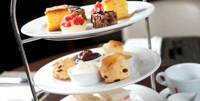 £35 for Afternoon Tea + Leisure Access Day Pass for 2