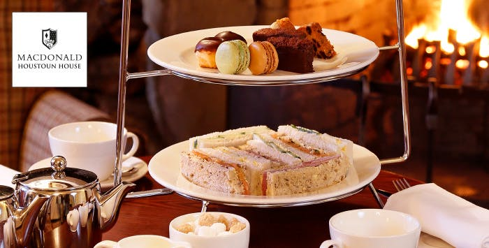 Afternoon Tea with Optional Prosecco & Use of Leisure Facilities for 2, from £20