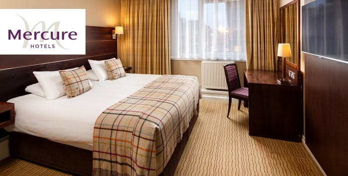 1 or 2 Night Stay with Wine + Dinner for 2, from £105