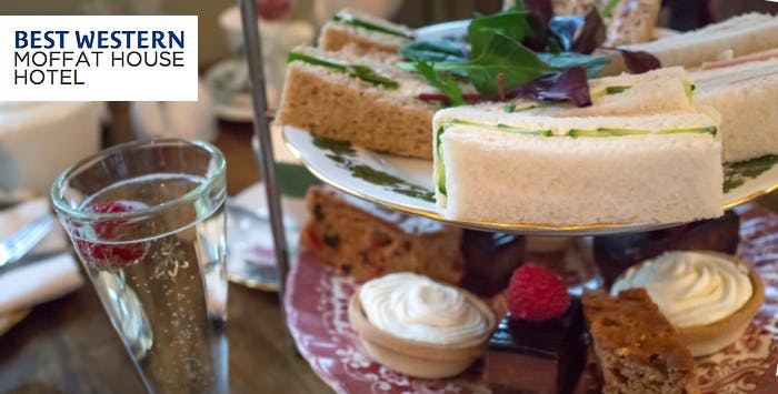 Afternoon Tea with Optional Fizz for 2, from £19.95