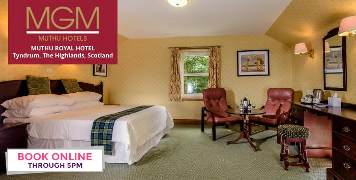 1, 2 or 3 Night Stay with Breakfast, Option of Dinner + Prosecco from £54