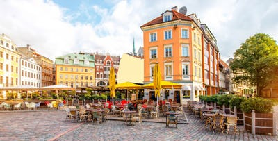 £270 per person for 4 Nights in Riga with Return Flights - Low Deposit Required