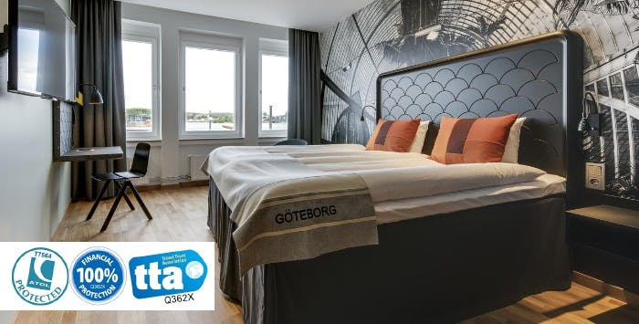 £235 for 3 Nights in Gothenburg with Return Flights - Low Deposit Required