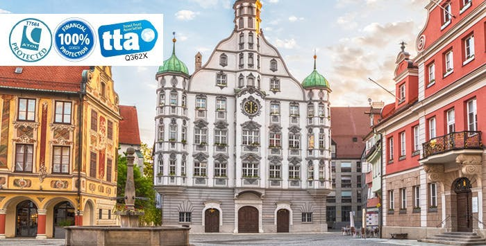 £230 per person for a 3 Night Stay in 3* Memmingen Hotel with Return Flights
