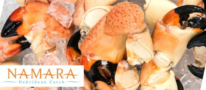 Seafood Hamper from Namara Hebridean Catch, from £20