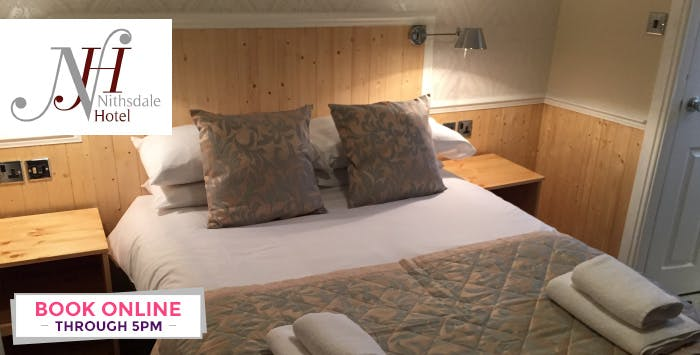 £79 for an Overnight Stay with Breakfast + Dinner for 2