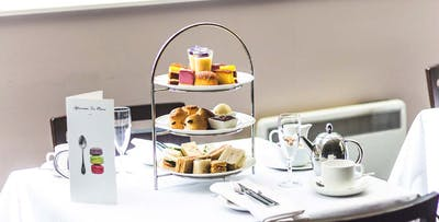 Luxury Afternoon Tea with Prosecco or Champagne for 2, from £32