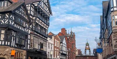 1 or 2 Nights in Chester + Dinner at Café Rouge, from £85 per person