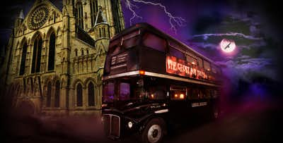 1 or 2 Night Stay in York Hotel + Ghost Bus Tour, from £69 per person