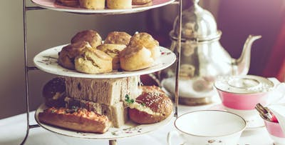 £12.50 for Prosecco Afternoon Tea for 2
