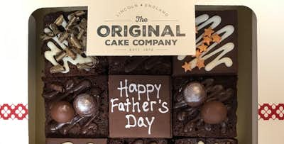 £12.95 for a Father's Day Chocolate Cake Box