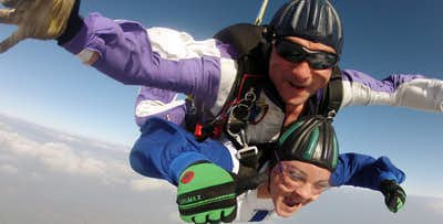 £229 for a Tandem Skydive