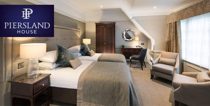 1 or 2 Night Stay with Dinner + Prosecco for 2, from £109